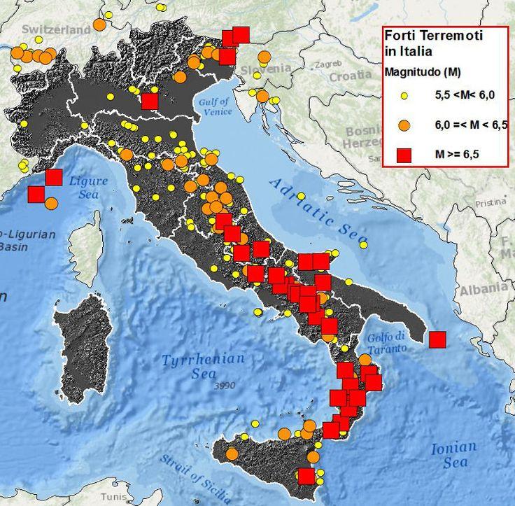 L'italia che trema: dal Belice all'Aquila, dall'Irpinia all'Emilia, dal Lazio…