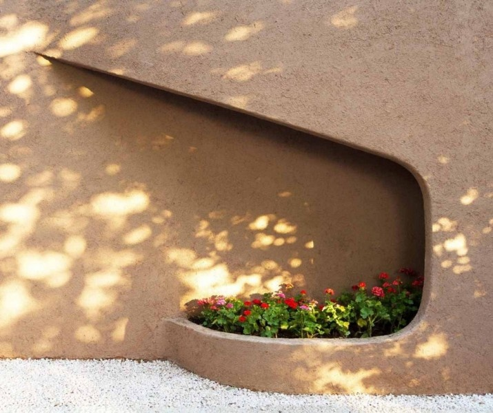 flowers of Amir Villa designs with pools
