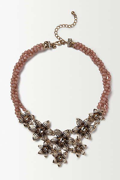 Amaranth Blossom Bib