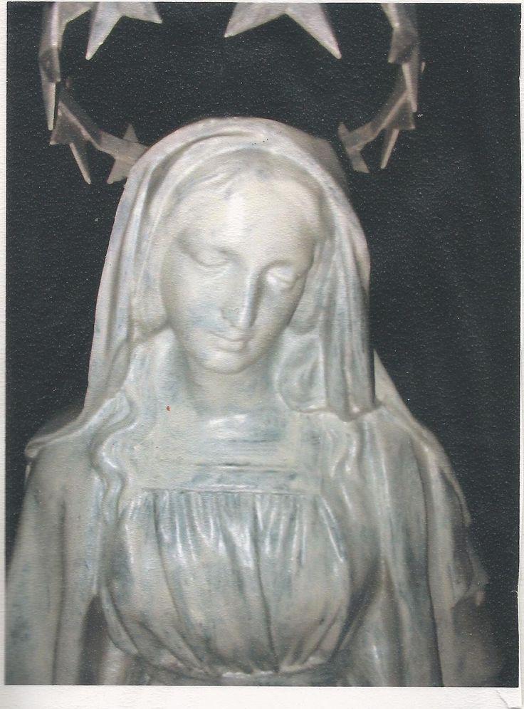 Les  Meilleures Images Du Tableau La Statue De La Vierge DEvans