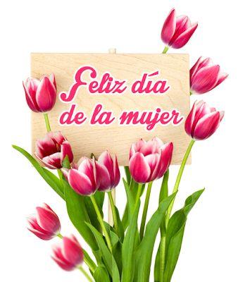 8 de Marzo - ¡ Feliz Día de la Mujer ! - Postales con Flores y Mensajes para Compartir en Internet con quien tú quieras   Banco de Imágenes Gratis