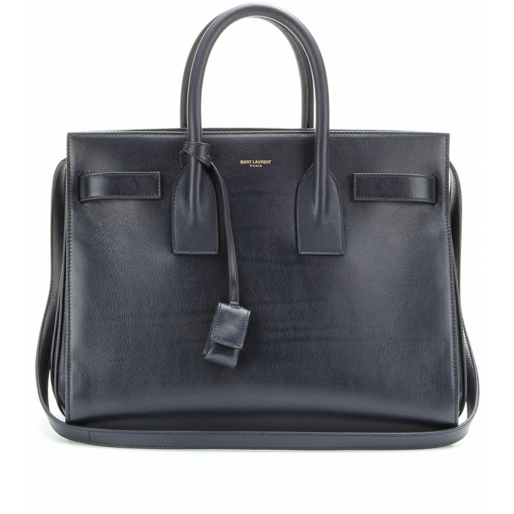 92fdf87589f Saint Laurent - Sac De Jour Small leather tote - mytheresa.com GmbH   Bags    Pinterest   Leather totes, Ysl and Feminine