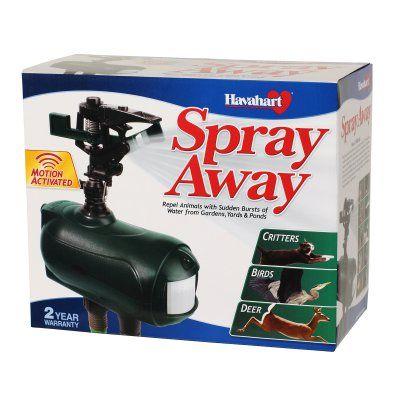 Havahart 5270 Spray Away Motion Activated Sprinkler 2.0 - 1384-1234