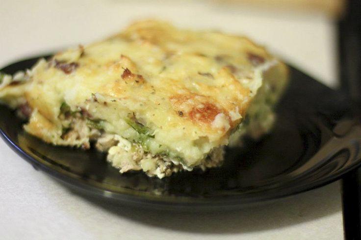 Shepherd's Lasagna #thespicydiva #lasagna #potatoes