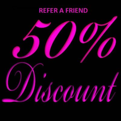 """Refer A Friend - 50 % Discount On Your Next Reading  Refer a friend and Six Senses will offer a 50 % discount on your next reading !!  Simply enter your friend's full name on the """"Refer A Friend"""" Discount box on the Mediumship Bookings Form. When your friend confirms and pays for his/her booking we will record it and offer your 50% discount by return credit on your full payment on your next booking.  http://sixsensespsychicreadings.com/mediumship-bookings.php"""