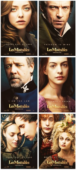 Les Miserables, Christmas Day 2012. No words can describe my excitement.