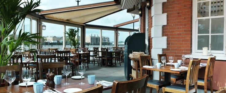 The Narrows - Gordon Ramsay restaurant on The Thames