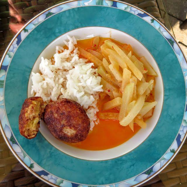 Perkedel (Indonesische Kartoffel-Frikadelle) Beilage Braten #asianfood #asiatisch #exotisch
