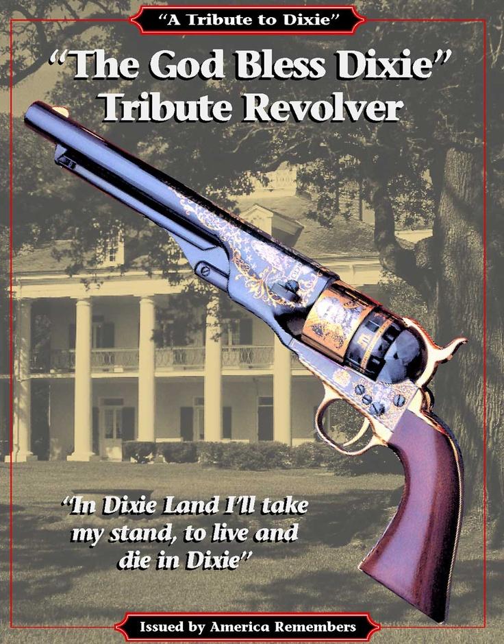 #dixie #confederate #guns #revolver #southern
