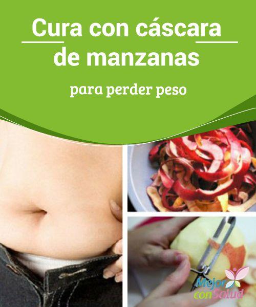 Cura con cáscara de manzanas para perder peso  ¿Deseas perder peso de una forma saludable y con salud? Entonces no te pierdas este sencillo tratamiento a base de cáscara de manzanas. Te encantará.
