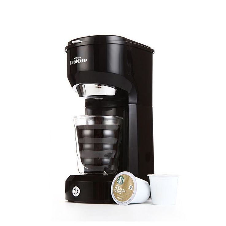Single Cup Coffee Maker Travel Coffee Brewer for K-cups Ground Coffee #CoffeeBrewer