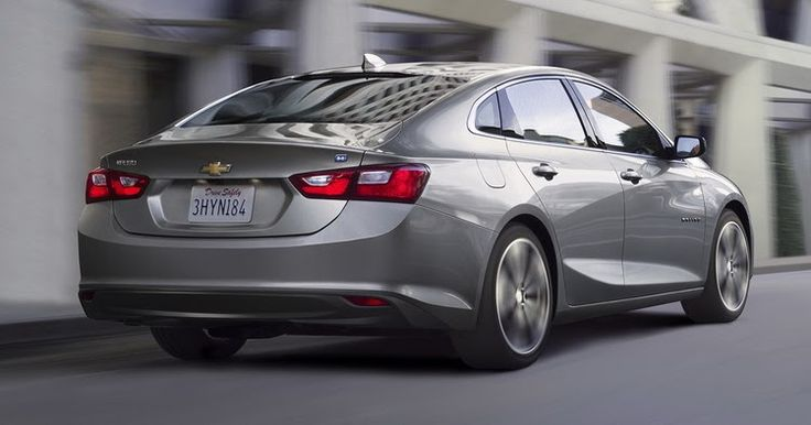 Chevy Says 2016 Malibu Hybrid Is The Most Efficient In Its Class With 46MPG Combined