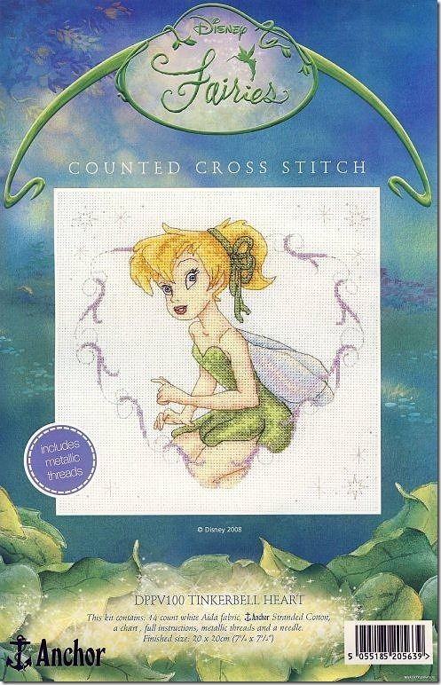 tinkerbell-ponto-cruz (1)Cross Stitch, Crossstitch, Tinker Belle, Stitches Ideas, Cross Stitch, Crosses Stitches, Stitches Disney, Stitches Pattern