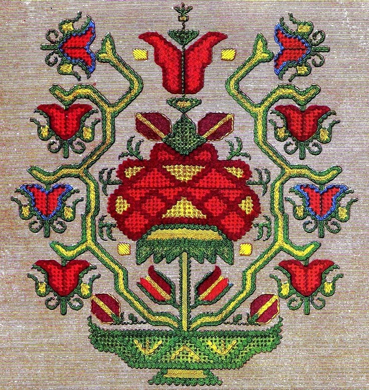 HESAP ISI EMBROIDERY PATTERN 1
