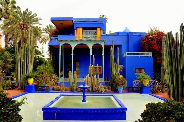 Jardin Majorelle Art Deco Home Marrakech Marrakech Morocco