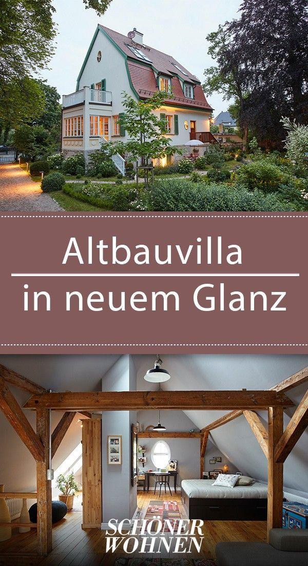 Old villa in new splendor – modern renovated