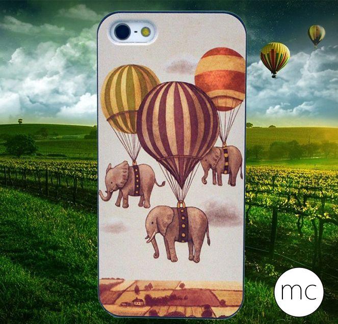 Protection coque avec  éléphants volants pour #iPhone #SE #iPhone5 #iPhone5s  #macoque  4.99€