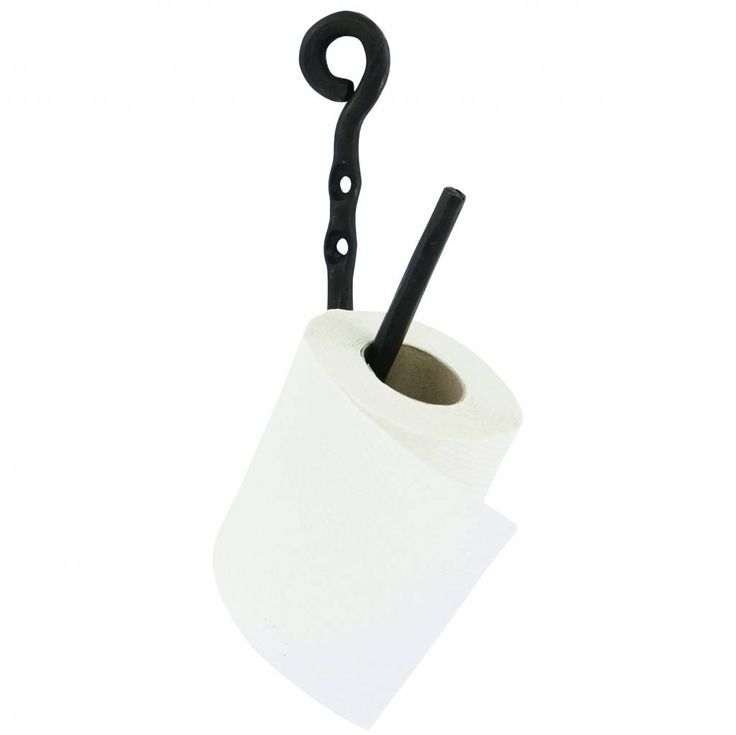 Ja ook een toiletpapierhouder moet gewoon stylish zijn. Weg met die standaard gevallen. Deze wc-rolhouder Cast van House Doctor is gemaakt van stoer, zwart meta