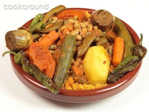 Cous cous di verdure: Ricette Tunisia | Cookaround