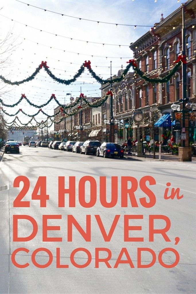 Even if you only have a day in town, there is so much to see in Denver! Here are a few highlights to check out even if your stay in the mile high city is a short one. http://www.littlethingstravel.com