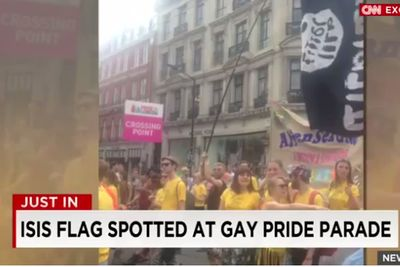 CNN's most embarrassing flub ever? The ISIS dildo gay pride flag, explained