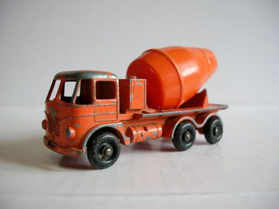 "Vintage 1960s Toy Truck   Lesney Matchbox I had this truck and it came in a cardboard ""matchbox."""