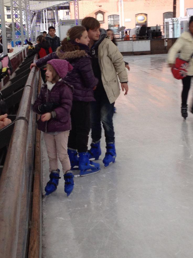 Si pattina anche sul ghiaccio