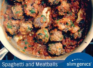 How about a putting a classic dish with a #healthy twist on the menu tonight? This Spaghetti and Meatballs with Marinara #recipe will make everyone in the family smile!