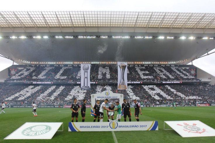 Mosaico Bicampeão Mundial - Corinthians x Palmeiras   BR 2017