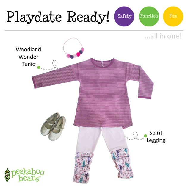 Woodland Wonder Bean! | Peekaboo Beans - playwear for kids on the grow! | Contact your local Play Stylist or shop On-Vine at www.peekaboobeans.com | #PBPlayfulPairings