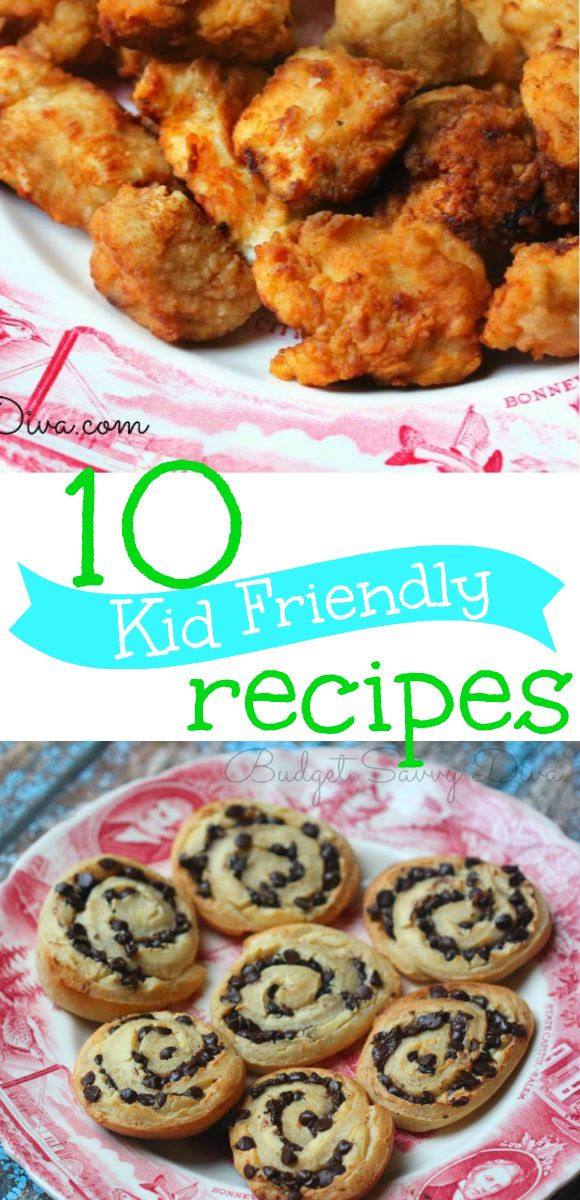 Needing an easy recipe idea? Well here are top 10 true and tasted recipes for kids - Top 10 Kid Friendly Recipes Roundup