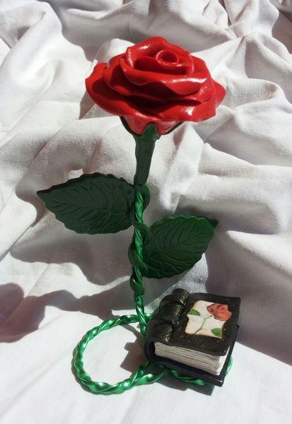 rosa  de sant jordi de ARTPERSONAL por DaWanda.com