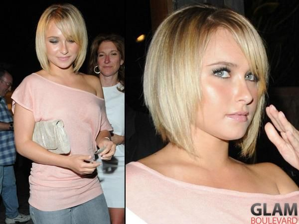 Hayden Panettier Gets A Bob #hairstyle - See more stunning hair design at Stylendesigns.com!