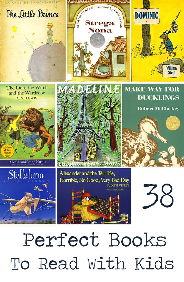 38 Perfect Books To Read Aloud With Kids #readersadvisory