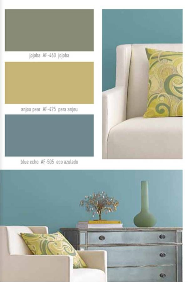 Interior paint colors be the inspiration for your - Interior paint color palette combinations ...