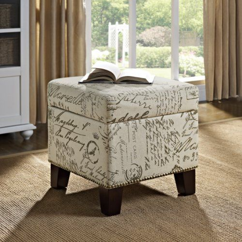 Dorel Asia Script Cube Ottoman with Storage  http://www.furnituressale.com/dorel-asia-script-cube-ottoman-with-storage/