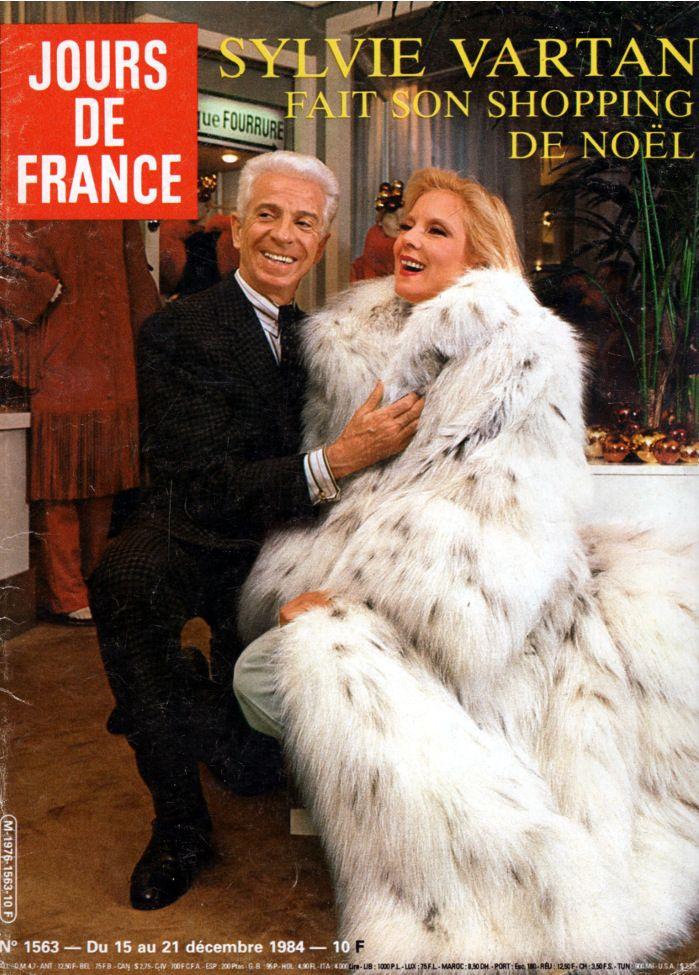 Sylvie Vartan et Frédéric Castet at Dior - 1984 Russian ...
