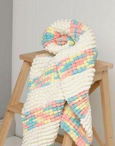Passioknit Baby Pram Blanket Project