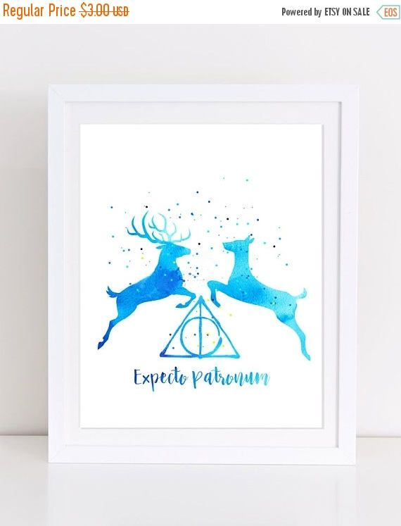 70%OFF Harry Potter Patronus Poster Expecto Patronum
