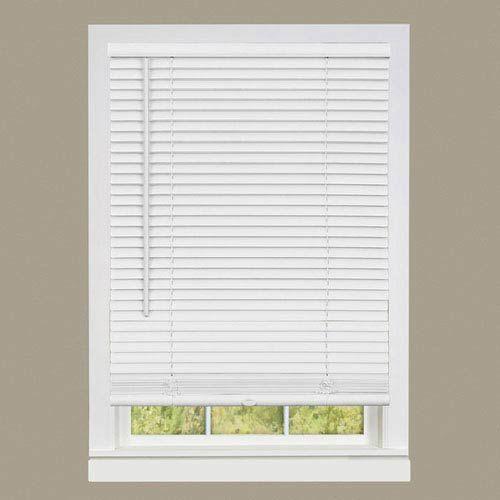 Achim Importing Company Dsg236wh06 Cordless Gii Deluxe Sundown 64 X 36 In Mini Blind In Pearl White Transitional Bellacor In 2020 Vinyl Blinds Mini Blinds Blinds
