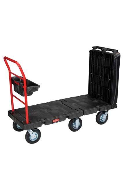 Convertible Handling Cart 2000 lbs: Convertible carth with 2 platform and 1 storage bin