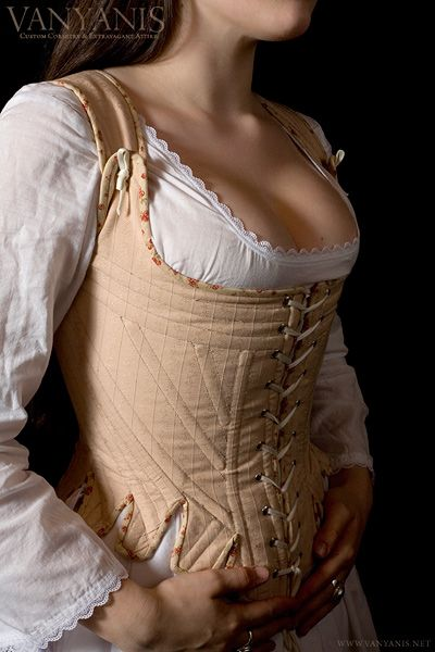 18th Century Reproduction Stay or Corset Photography © Mark Anthony Boyle