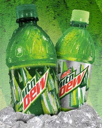 Free coupons for mountain dew
