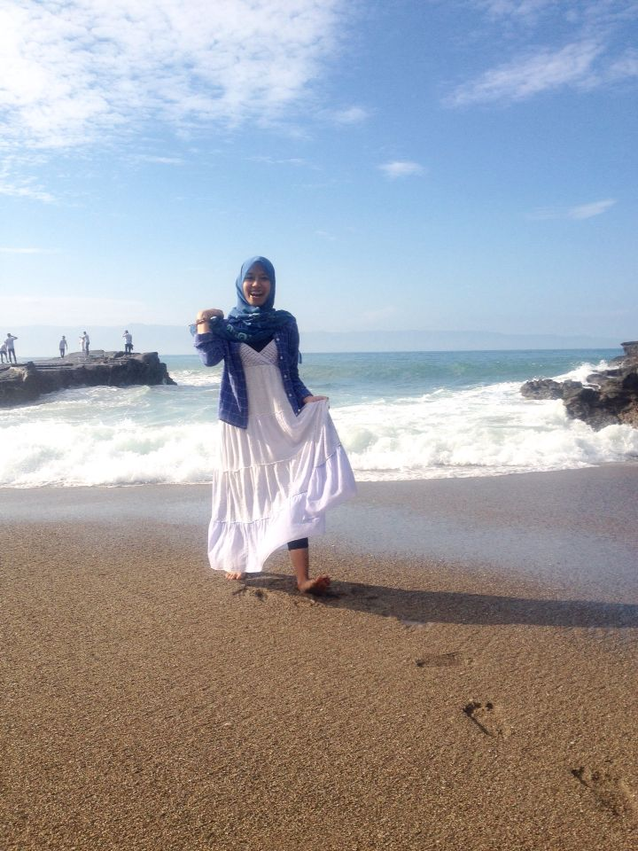 The one of the most beautifull beach in indonesia