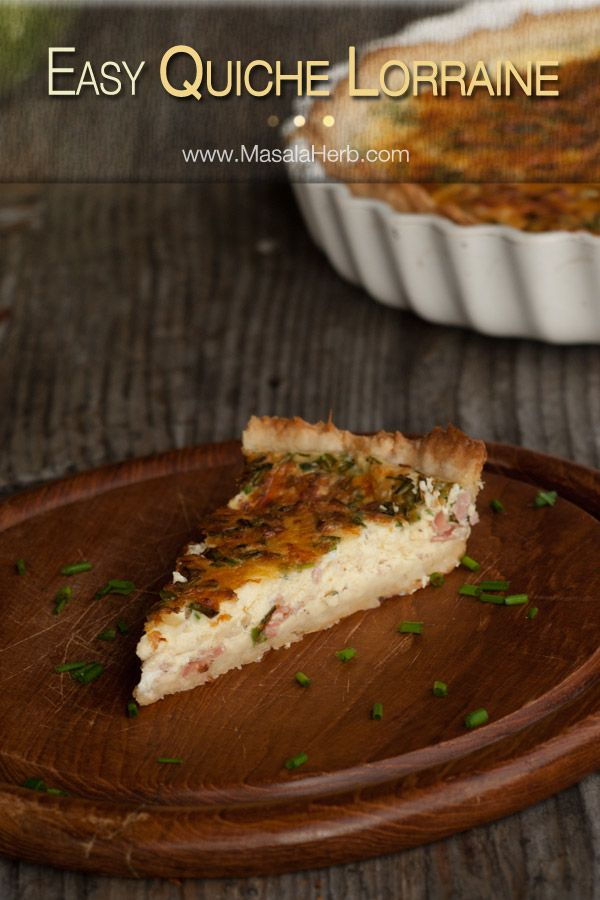 Quiche Lorraine Recipe easy and quick with step by step pictures. check out how to make quiche lorraine from scratch.