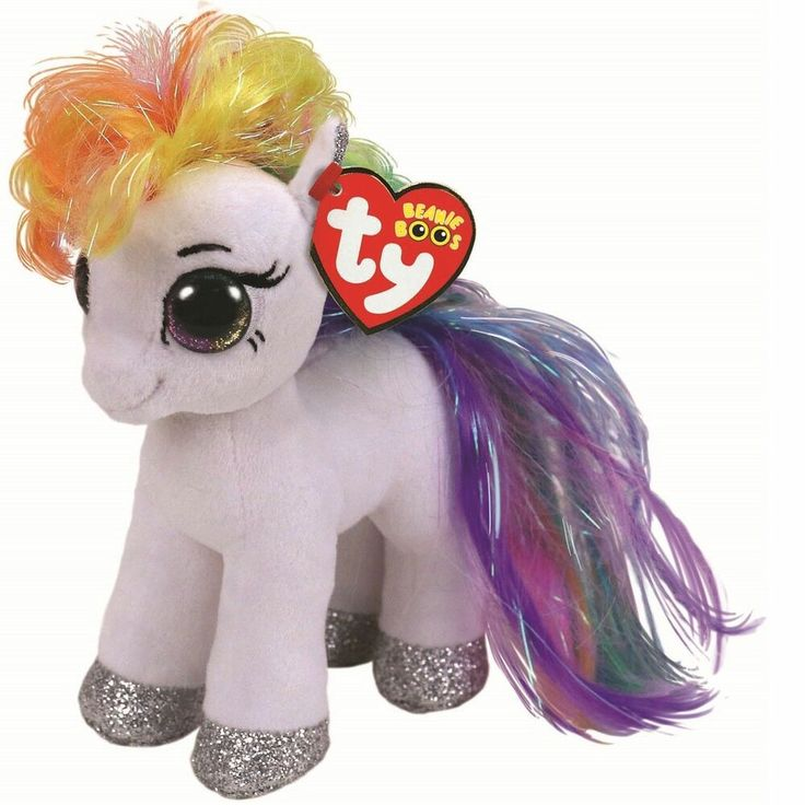 NEW Ty Beanie Boos ~ TOPAZ the Little Pony Horse 6 Inch