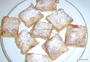 Hraběnčin rebarborový koláč Recepty.cz - On-line kuchařka