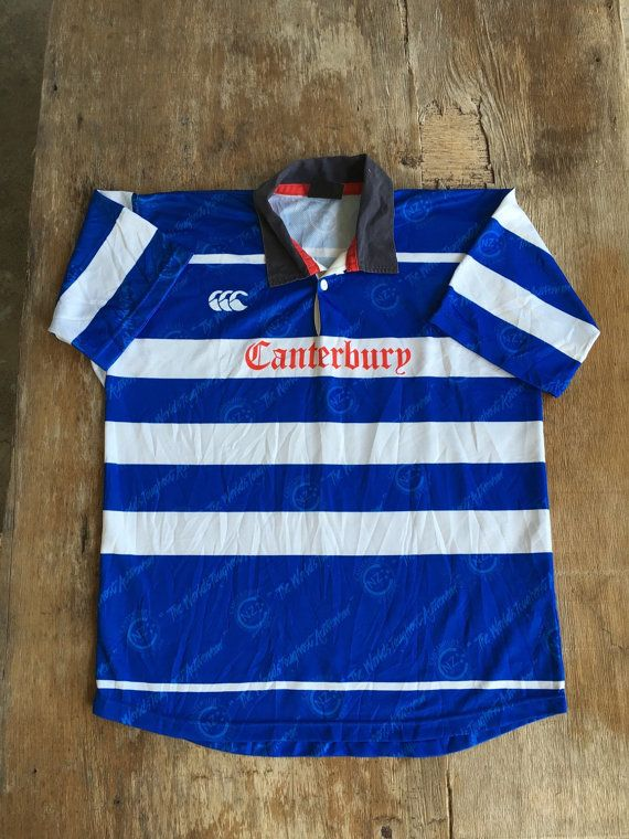 Sale Rare Canterbury Rugby Jersey of New Zealand  by NECKTIE4U