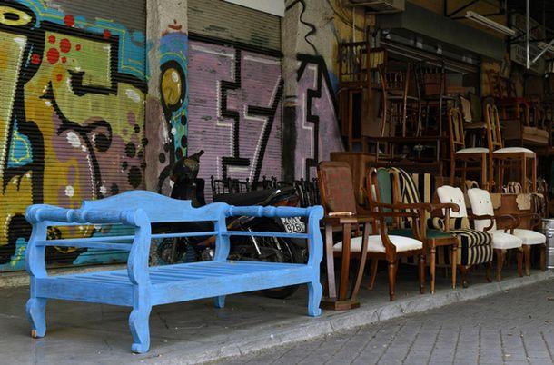 Блошиный рынок в Афинах