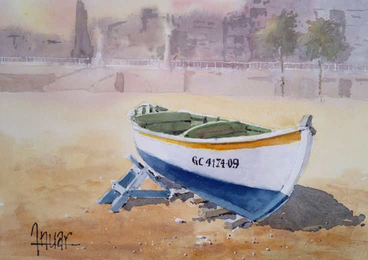 Barca playa
